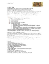 Folkeviser | Analyse | Dansk Opgave | 10 i Karakter