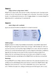 Billig VVS | Afsætning | 12 i karakter