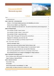 Mennesker og Natur | Kompendium | Nyheder