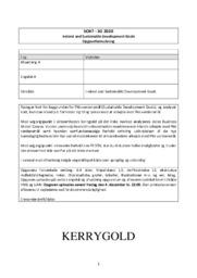 Ireland and Sustainable Development Goals | Kerrygold | 10 i karakter