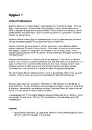 Virksomhedsanalyse af Søsterne Grene | 10 i karakter