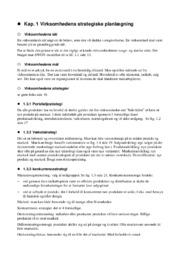 Komplet virksomhedsøkonomi notebog