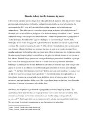 Det vidner om, at vi enten har… | Analyse | Elsebeth Hauge
