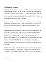 Langdigt | Analyse | Yahya Hassan