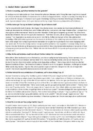 Dansk Opgave | Journal | Noter