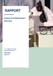 Analyse | brillebranchen i Danmark | 10 i karakter
