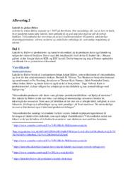 Købsadfærdsanalyse ved køb af rejser & Lakrids