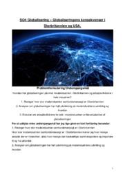 SO Globalisering   Konsekvenser i Storbritannien & USA
