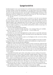 Spøgelsesbilist | Analyse | Charlotte Weitze | 10 i Karakter