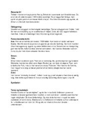 Knokkelmanden | Dansk Opgave | Noter