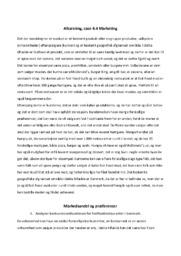 Marketing   Afsætning   10 i karakter