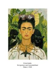 Frida Kahlo | Selvportræt med tornehalsbånd