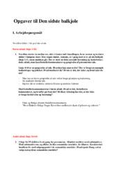 Opgaver til Den Sidste Balkjole | 10 i Karakter