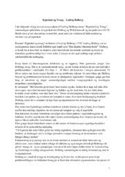 Ægteskab og Tvang | Analyse | Ludvig Holbergs