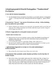 Naadsensbrød | Arbejdsspørgsmål