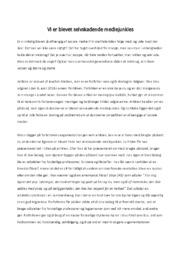 Vi er blevet selvskadende… | Analyse | Joachim Nielsen