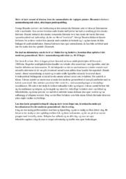 Overlevet | Analyse | George Brandes | Noter