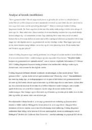 Kronik | Analyse | Anders Colding-Jørgensens | 12 i Karakter