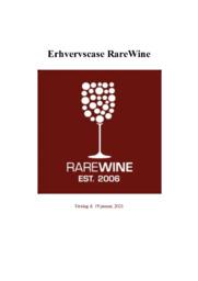 Rarewine | Erhvervscase | 12 i karakter