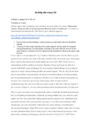 Dansk økonomi under Coronakrisen | International økonomi