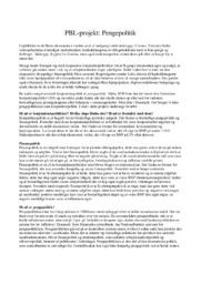 Pengepolitik | International Økonomi