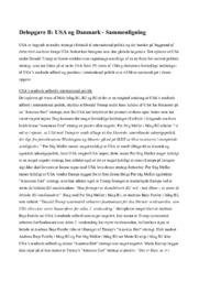 USA og Danmark | International politik