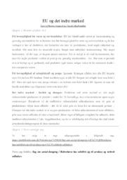 EU og det indre marked | Samfundsfag | 12 i karakter