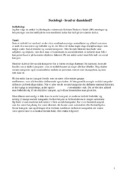 Hvad er danskhed   Samfundsfag   10 i karakter