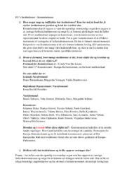 EU's Institutioner | Kommissionen | Noter