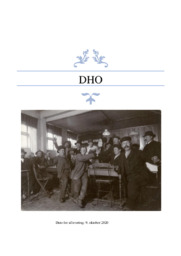 Den begyndende industrialisering | DHO | 10 i karakter