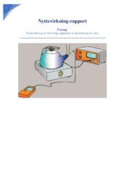 Nyttevirkning | Fysikrapport | 12 i karakter