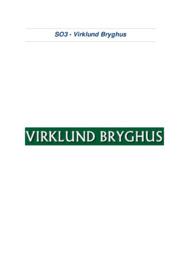 Virklund Bryghus | VØ opgave | 10 i karakter