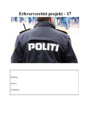 Narkohundefører og fængselsbetjent | Erhvervsrettetprojekt