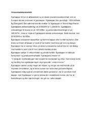 Egetæpper AS | Erhvervscase | 10 i karakter