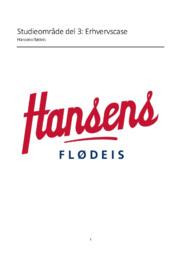 Erhvervscase | Hansens Flødeis | 10 i karakter