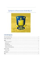 Brøndby IF   Synopsis erhvervscase   10 i karakter