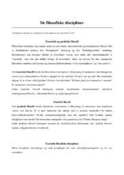 De filosofiske discipliner | Noter | Over 10 sider