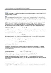 Hydrogens linjespektrum   Fysikrapport   12 i karakter