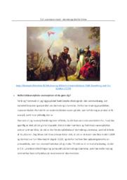 C.A. Lorentzens maleri | dannebrogs fald fra himlen