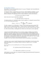 Probability | Matematik | Noter