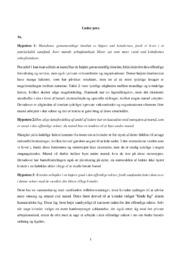 Under pres | Samfundsfagsopgave | 10 i karakter