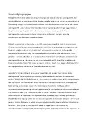 Udenrigspolitik | Sammenligningsopgave | 12 i karakter
