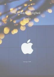 Apple   SO   10 i karakter
