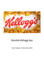 Nordisk Kellogg Aps | SO | 10 i karakter
