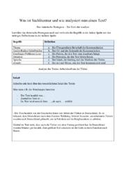 Arbeitskraft aus der Türkei    Analyse   10 i karakter