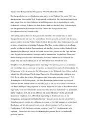 Mittagspause von Wolf Wondratschek   Analyse
