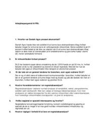 Danish Agro | Virksomhedsøkonomi | Noter