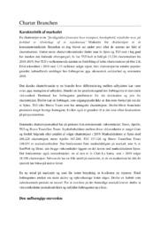 Analyse af charterbrancen | 12 i karakter