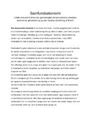 Samfundsøkonomi | 12 i karakter