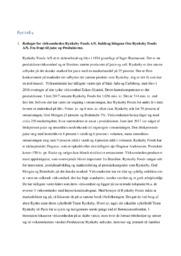 Analyse af Rynkeby Foods AS | 10 i karakter